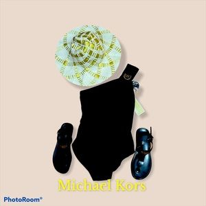 Michael Kors navy blue cruise 2018 one piece